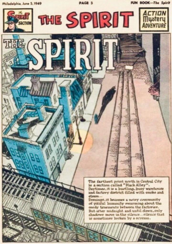 Inledande sida i original, från 5 juni 1949. ©Register&Tribune