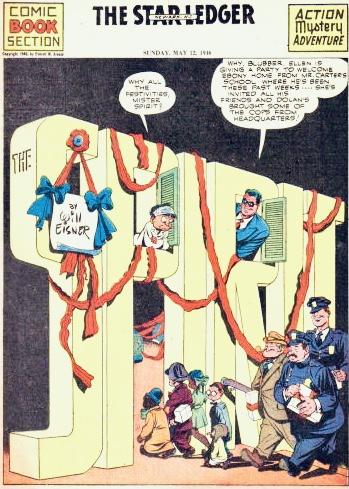 Inledande sida i original, från 12 maj 1946. ©Register&Tribune