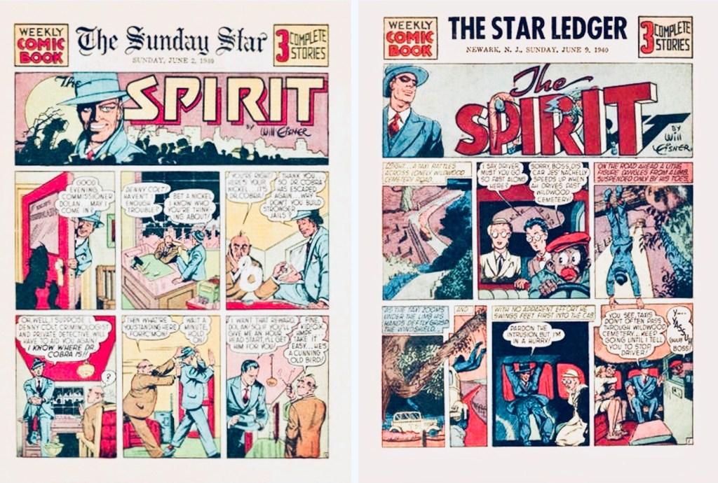 Inledande titelsida till Spirit Section #1 och #2. ©Register&Tribune