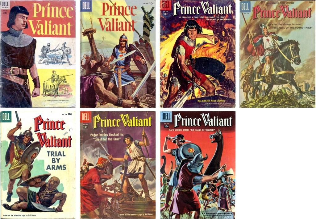 Omslag till Prince Valiant i Four Color Comic. ©Dell