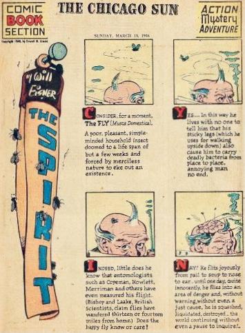 Inledande sida i original, från 10 mars 1946. ©Register&Tribune