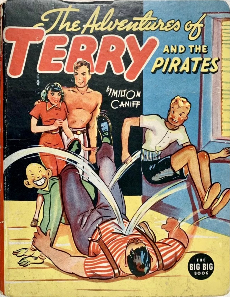The Adventures of Terry and the Pirates and the Mystery Ship (1938) från Whitman