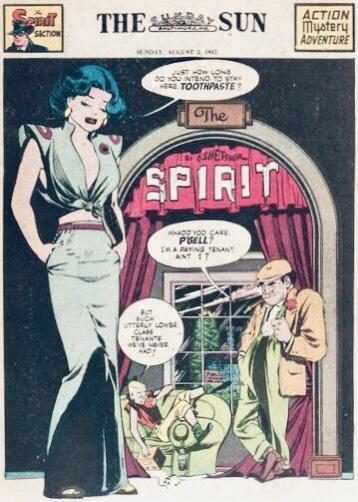Inledande sida i original, från 3 augusti 1947. ©Register&Tribune