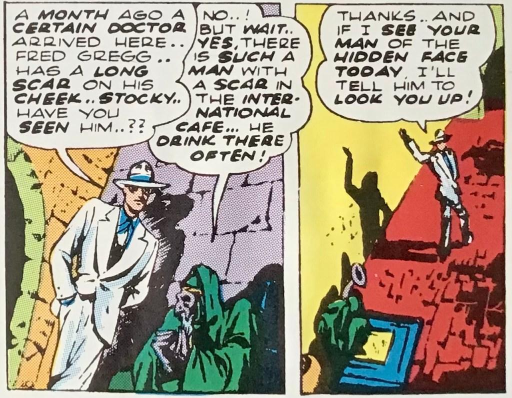 Även Spirit får höra om profetian i #60. ©Register&Tribune