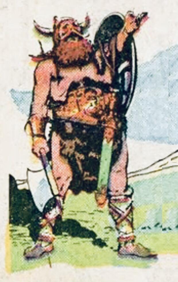 Valiant kommer den 14 december 1941 (#253), under en av sina resor, till Pireus, utanför Aten, där han möter den livsglade vikingen Boltar, som kom att bli hans vän för livet. ©KFS