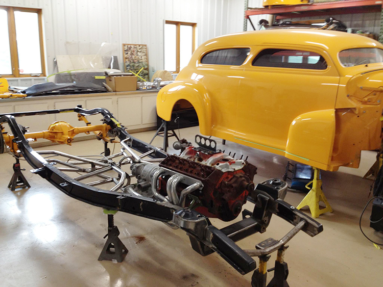 1948 Chevy frame build