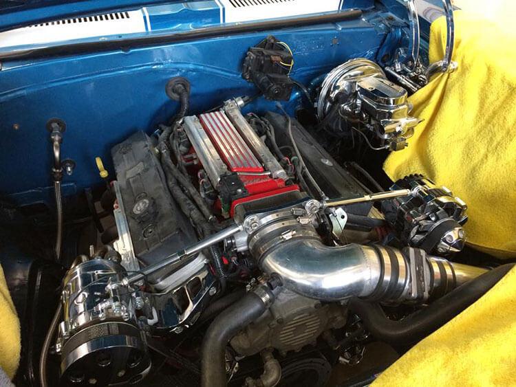 67 Chevy Camaro with corvette motor