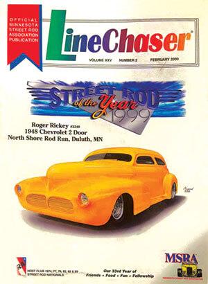 LineChaser magazine featured street rod