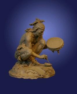 """Cheyenne Drum Painter"""