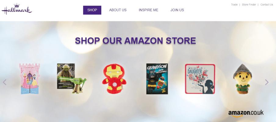 Hallmark cards website amazon