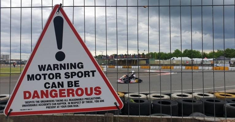 Kimbolton kart racing