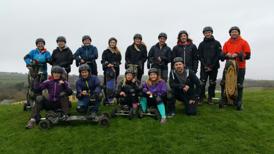 Mountainboard Instructor Training at Ultimate Adventure Centre