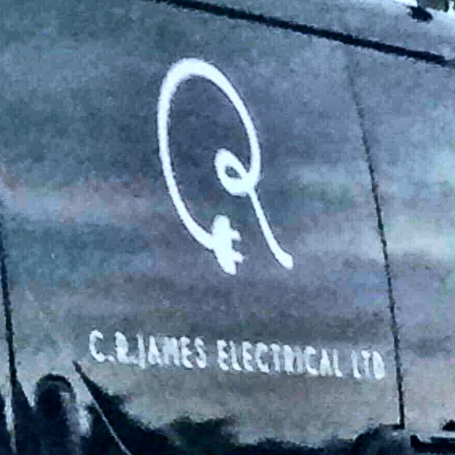 Cool logo for an electrician