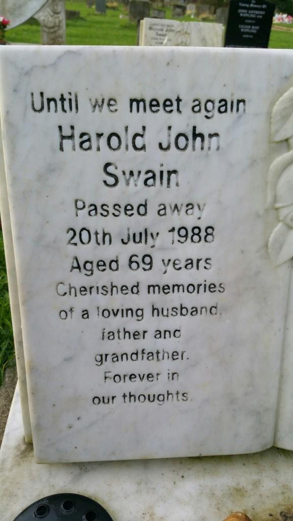 Grandad died