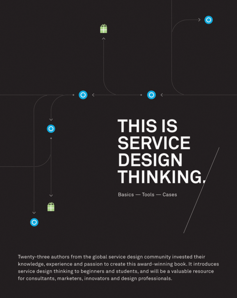 Ths is Service Design book