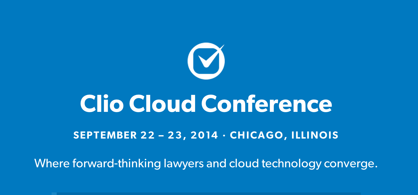 clio cloud conference 2014