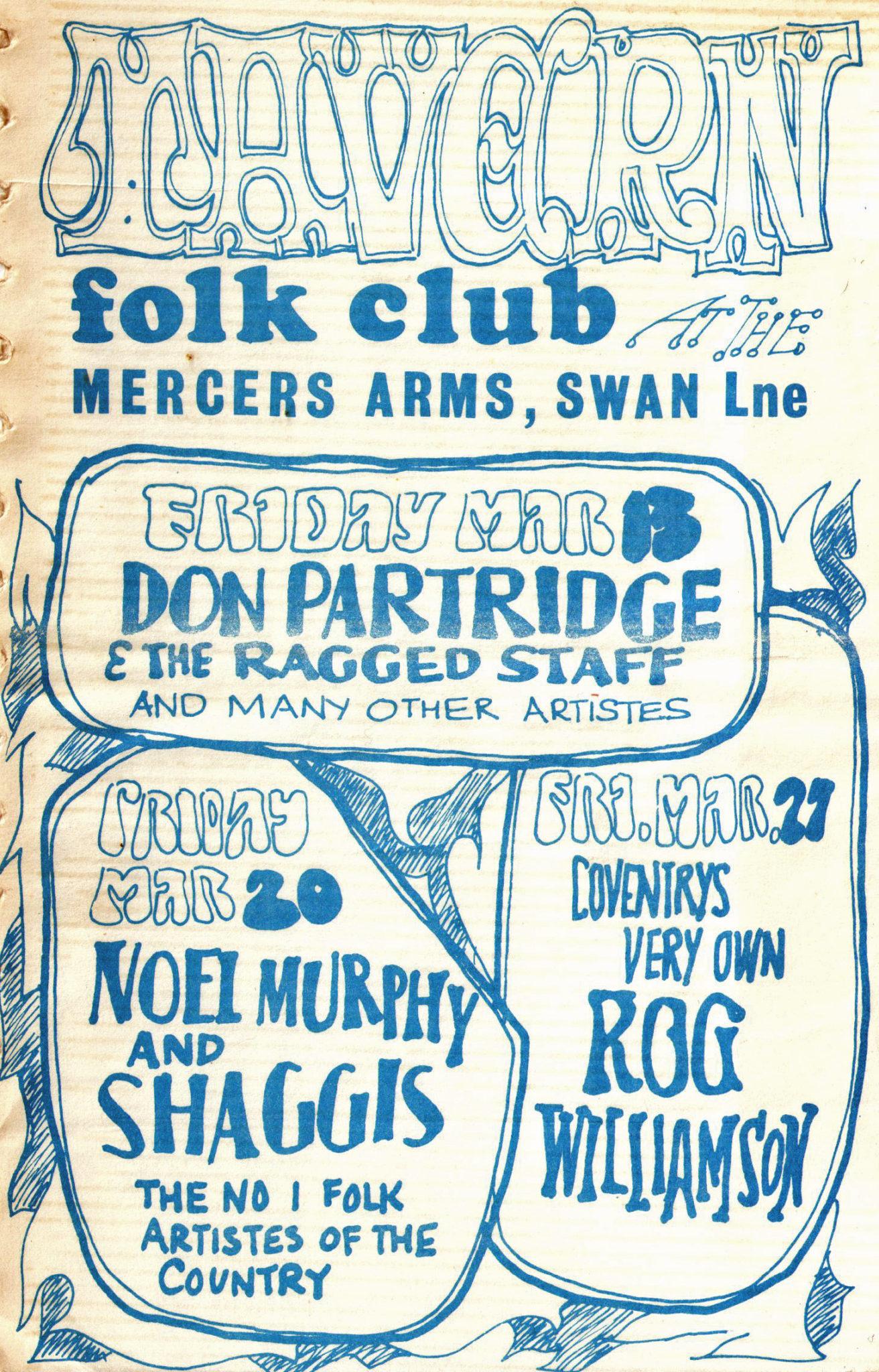 Coventry Folk Scene 1960s
