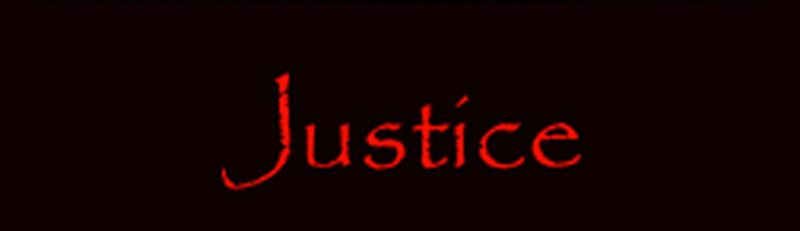 Justice banner