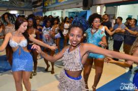 Passistas en action de Samba No Pé
