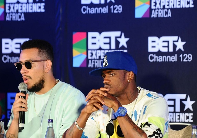 Tanzania) Diamond Platnumz, first East African artist to sign with