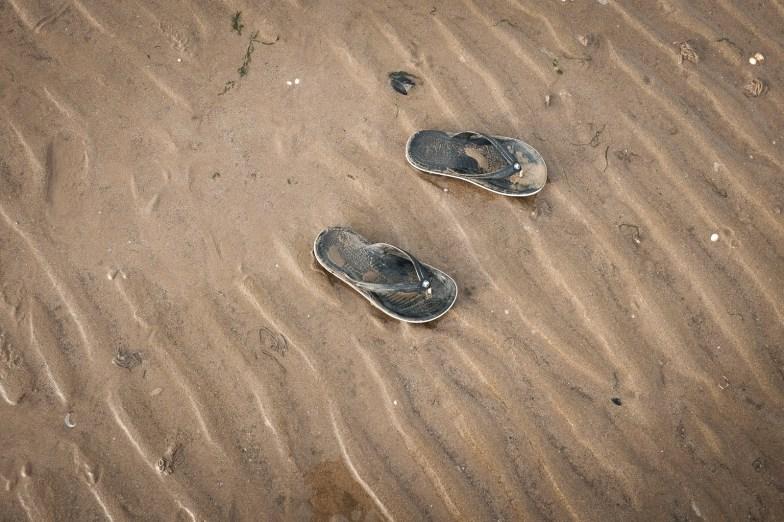 Flip flops - Heacham beach