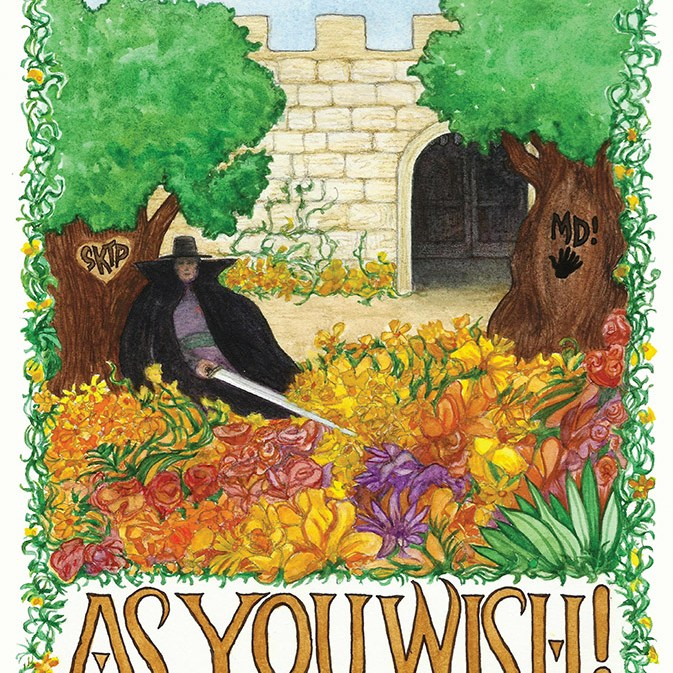AS YOU WISH! front cover
