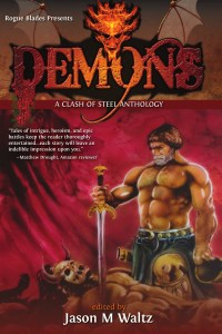 DEMONS: A CLASH OF STEEL front cover