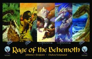 Rage of the Behemoth original cover art