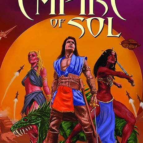 SCOTT ODEN PRESENTS: THE LOST EMPIRE OF SOL front cover