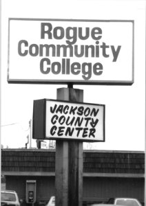 sign of Jackson County Center for RCC