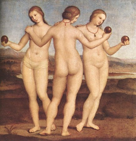 Raphael, Three Graces
