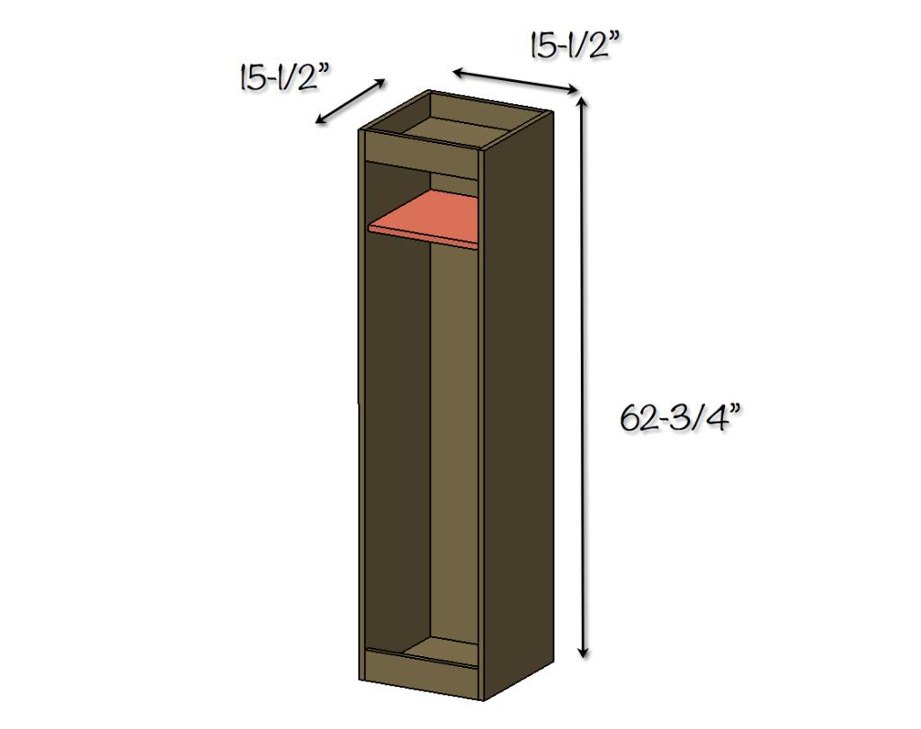 DIY Golf Locker Free Amp Easy Plans Rogue Engineer