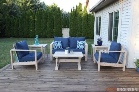 DIY Outdoor Loveseat Plans - Rogue Engineer 4 (1)