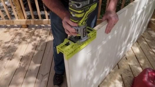 Replacing an interior door 7