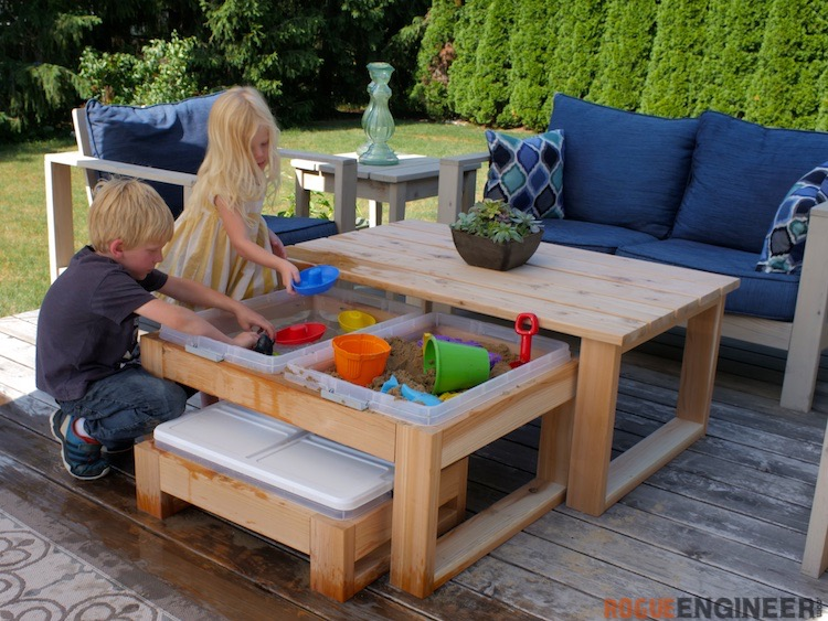 Outdoor Nesting Activity Table Rogue Engineer