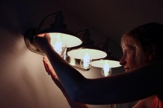 Vintage Lighting - Our First Flip 5