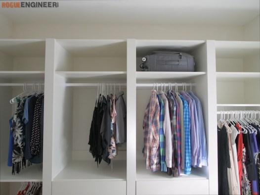 DIY Master Closet Plans Rogue Engineer 10