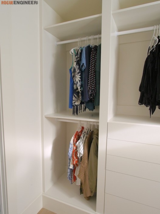 DIY Master Closet Plans Rogue Engineer 8