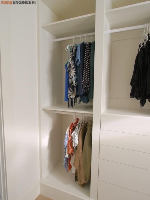 DIY Master Closet Plans Rogue Engineer 8