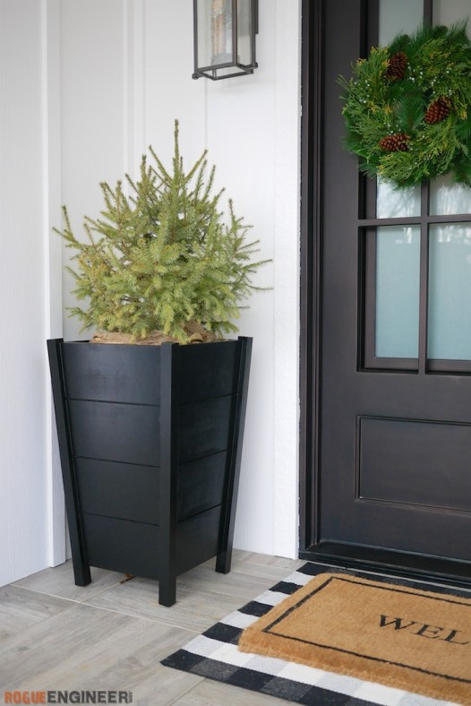 DIY Modern Tapered Planter Plans Rogue Engineer 2