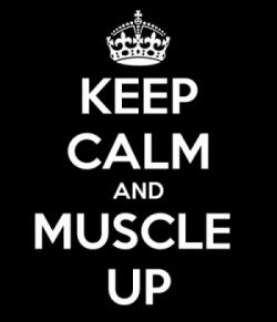 Mangan up / muscle up