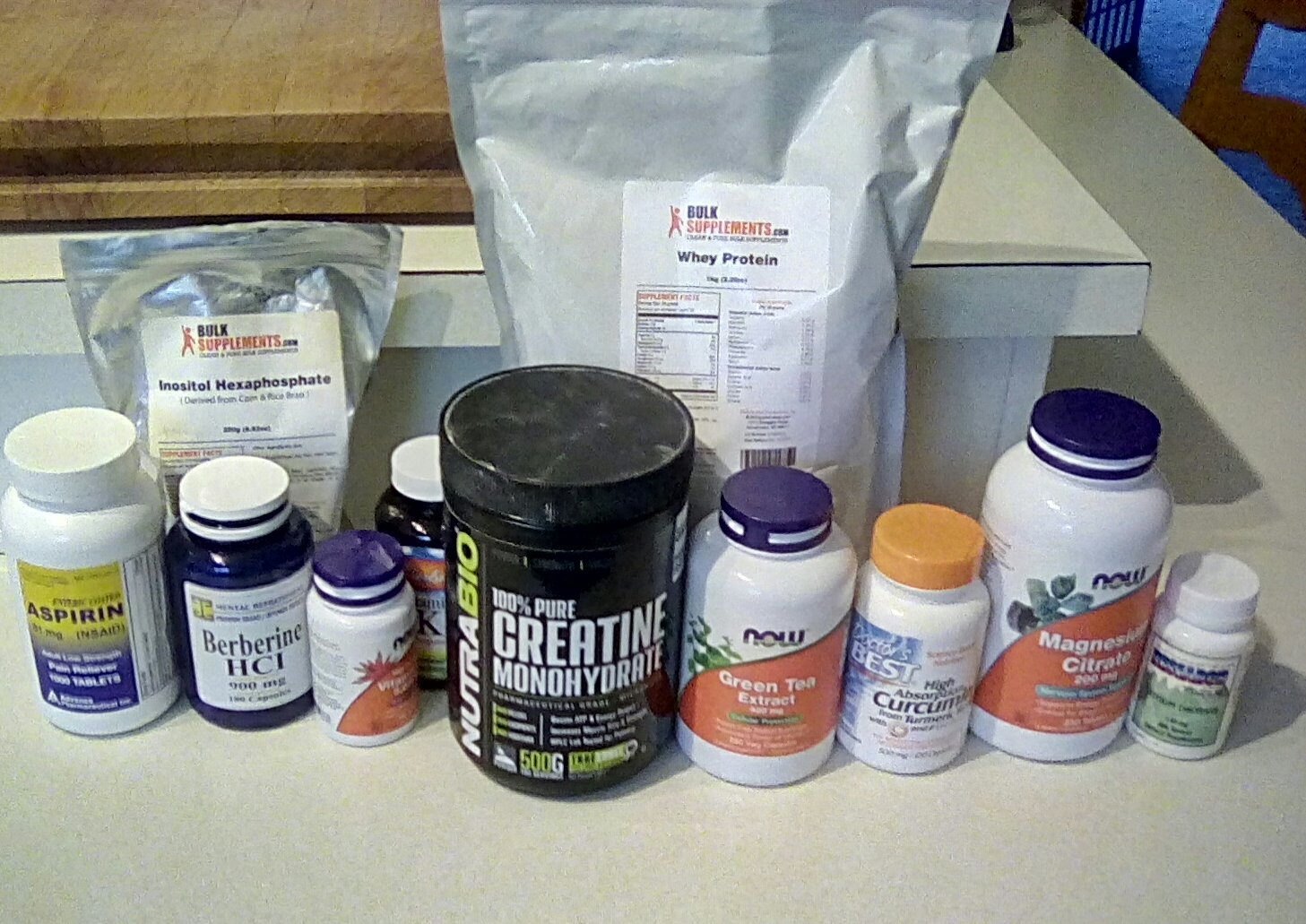 My Supplement Stack - Rogue Health and Fitness