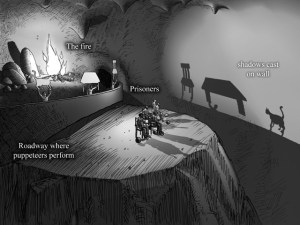 PLATO'S ALLEGORY OF THE CAVE: MANIPULATED 'REALITY'