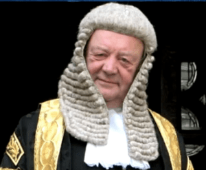 KEN CLARKE, AN EXPENSIVELY EDUCATED MAN WHO APPOINTED NIGEL GODSMARK AS SENIOR JUDGE AT NOTTINGHAM COUNTY COURT.
