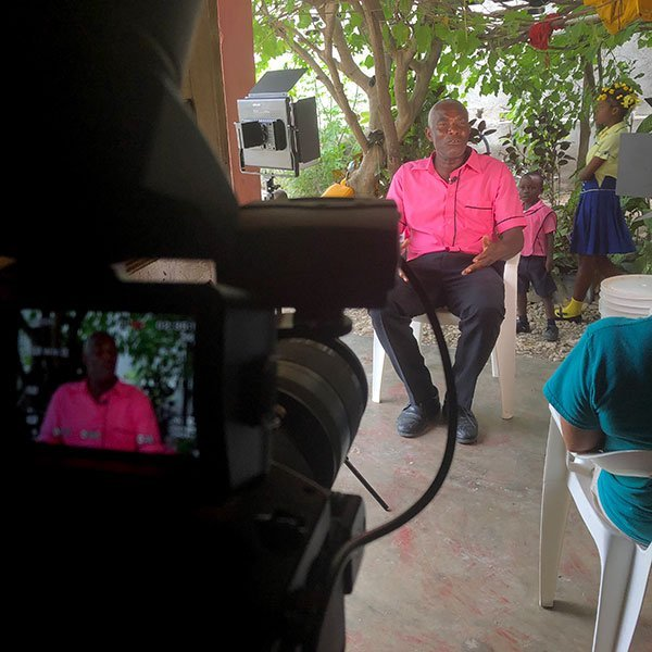 Story interviews Haiti