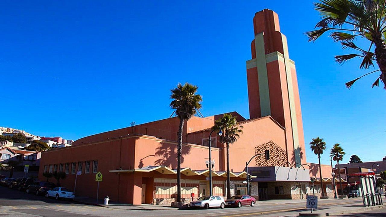 The home of the Voice of Pentecost church, San Francisco, circa 2004.