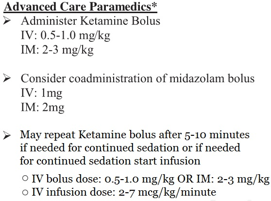 Nebraska EMS CPR Sedation Protocol - ALS