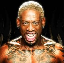 Famous Piercing Enthusiasts - Dennis Rodman