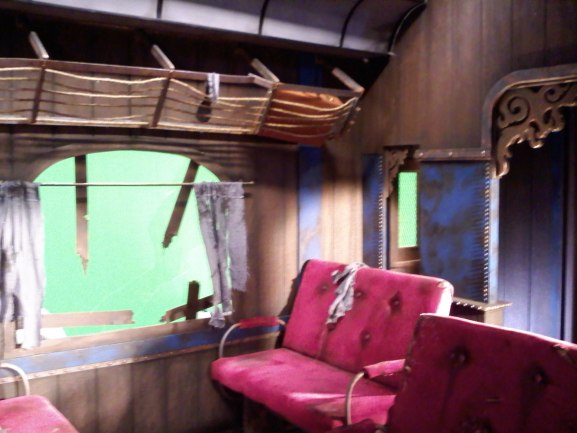 The folks at Naughty Dog like to have actual sets to interview the programmers for the Uncharted series. Found in the special features of the video game, you can see some of our handiwork.