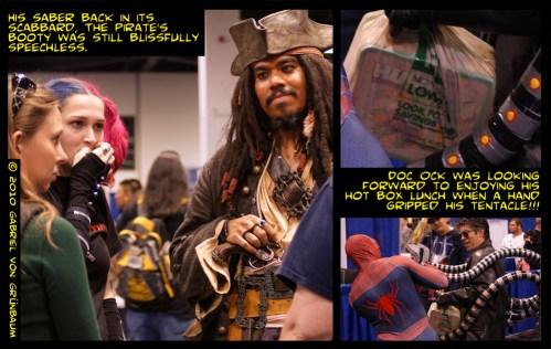 Comic Con Reporting: Photography, Graphic Design